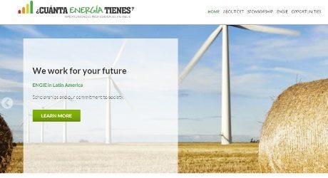 Project: ¿Cuánta Energía Tienes? ENGIE